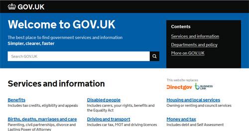 Học nguyên tắc thiết kế web từ chính phủ Anh